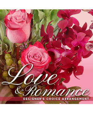 Love & Romance Designer's Choice in Lexington, SC | Orange Blossom Express Flowers & Gifts