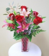 Love & Romance Roses and Lilies