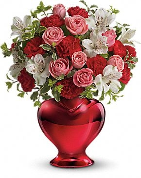 love shines bright bouquet valentine's