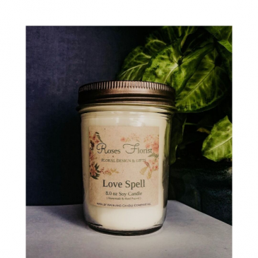 Love Spell Soy Candle  Waveland Candle Company