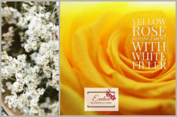 Love Story Rose arrangement