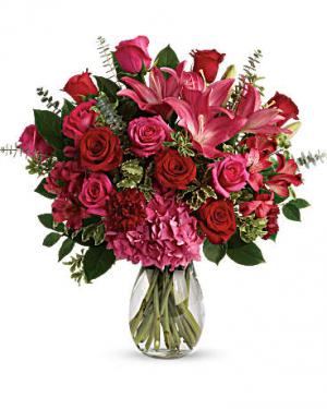 Love Struck Bouquet   in Oakville, ON | ANN'S FLOWER BOUTIQUE-Wedding & Event Florist