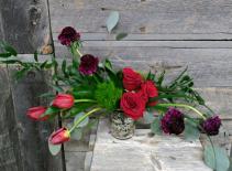 Love Swept Vase Arrangement