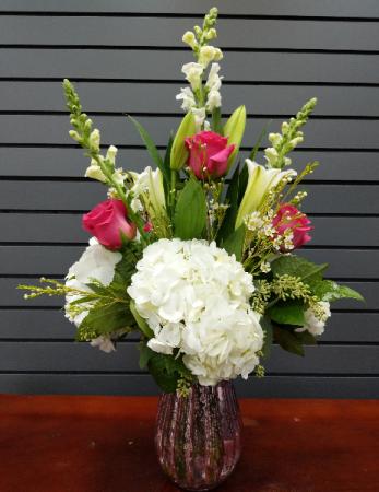 Love takes Flight Fresh Vase Arrangement