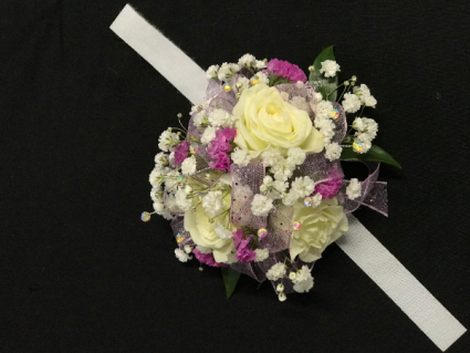 love the look  corsage