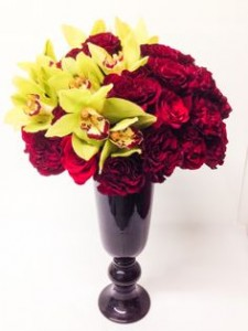 Love them with Orchids *Vase may vary
