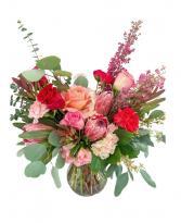 Love Vase Arrangement