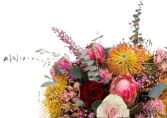 Love you a bunch Loose Hand Tied Bouquet