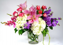 Love You Always Overflowing Flowers