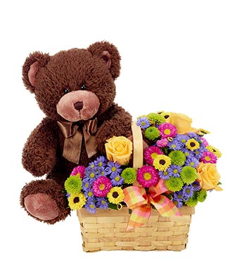 Love You Beary Much Basket