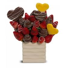 Love You Berry Much Edible Fruit Arrangement in Deer Lake, NL | YOUNG FLORAL DESIGNS