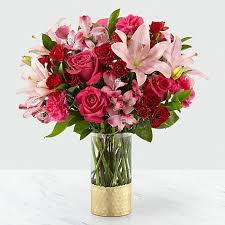 Love You Big! Specialty vase with assorted flowers