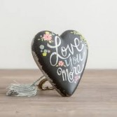"""Love You More"" Art Heart by Demdaco Best Seller"