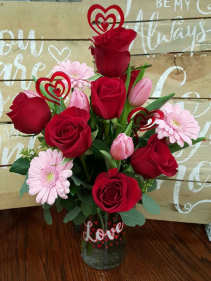 Love You More Bouquet Arrangment
