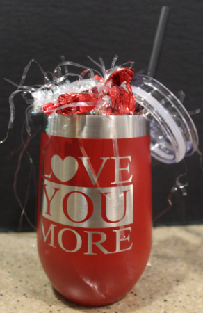 Love You More Gift Tumbler