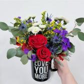 """Love You More"" Mug"