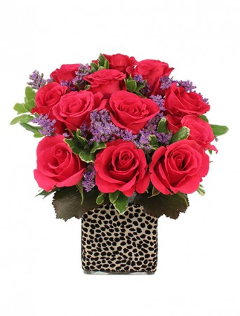Love You More Dozen Roses Bouquet Valentine S Day Flower Shop Network