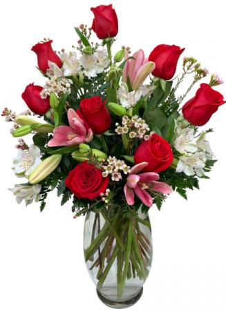 LOVE YOU MORE... VALENTINE'S DAY ARRANGEMENT