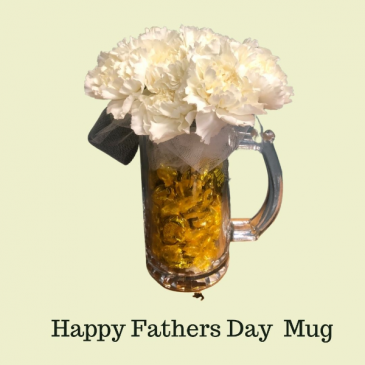 Love You Pops Flowers in a Mug