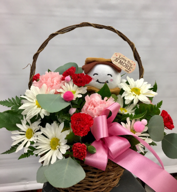 LOVE YOU S'MORE FRESH FLORAL ARRANGEMENT