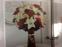 Expressions of love Love vase arrangement