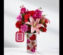 Love You XO Bouquet  Fresh Arrangement