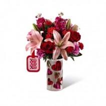 Love You XO by Hallmark Valentine Bouquet