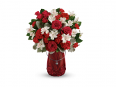 Love Your Heart Specialty vase with assorted flowers