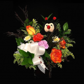 Ladybug Rose Mix With stuff Animal
