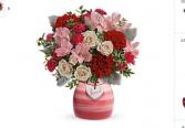 Loved Keepsake ceramic vase