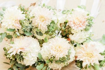 Delicate Bridesmaids Bouquets
