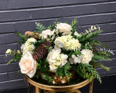 Lovely and Lush Holiday Centerpiece