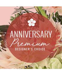 Lovely Anniversary Florals Premium Designer's Choice