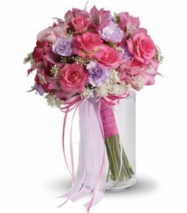 Lovely as a Rose Bouquet Bridal Bouquet