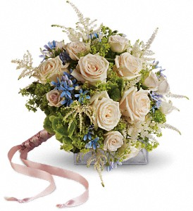 Lovely As A Rose  Bridal Bouquet