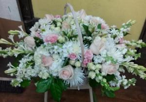 Lovely Basket Sympathy Arrangements in Tampa, FL   Island Flowers