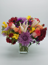 Lovely Blooms Flower Arrangement