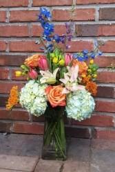 Lovely Blooms spring vase