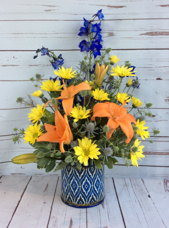 Lovely Blues & Yellows