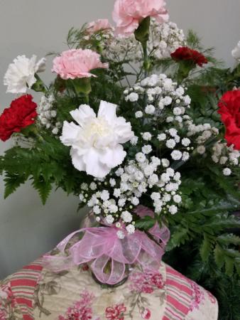 Lovely Carnations Fresh Flowers