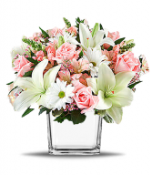 Lovely Enchantment Cube Vase