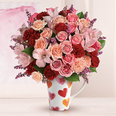 Lovely heart bouquet **LIMITED TIME OFFER**