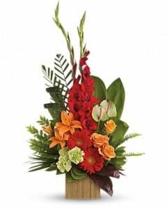 LOVELY HEART Funeral Flowers