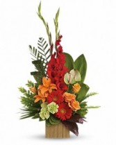 LOVELY HEART Sympathy Arrangement