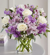 Lovely in Lavender Mixed Floral Arrangement