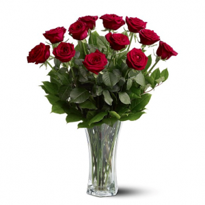 Lovely in Red Roses in Rossville, GA | Ensign The Florist