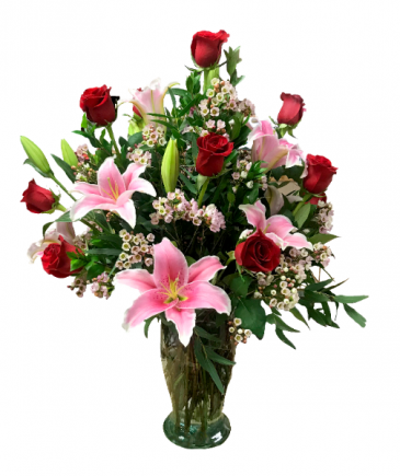 Lovely Lady Fresh Floral Arrangement