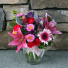 Lovely Lady Ginger Jar Love and Romance Flowers