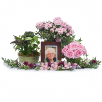 Lovely Lady Tribute Memorial Arrangement