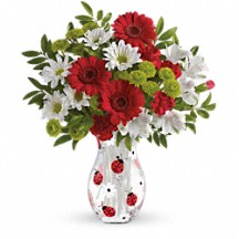 Lovely Ladybug Floral Bouquet